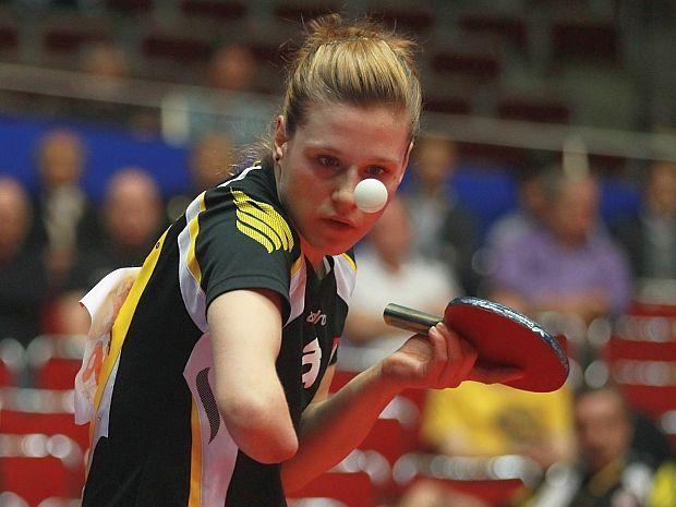 Natalia Partyka nie ma przy stole żadnych kompleksów (fot. Getty Images)