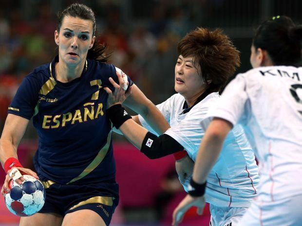 Beatriz Fernandez Ibanez mija Koreańskie zawodniczki (fot. Getty Images)