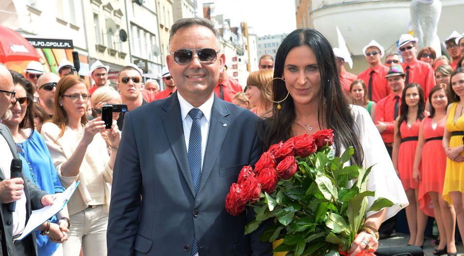 W ceremonii uczestniczył prezydent Opola – Krzysztof Kawałko (fot. I. Sobieszczuk/TVP)