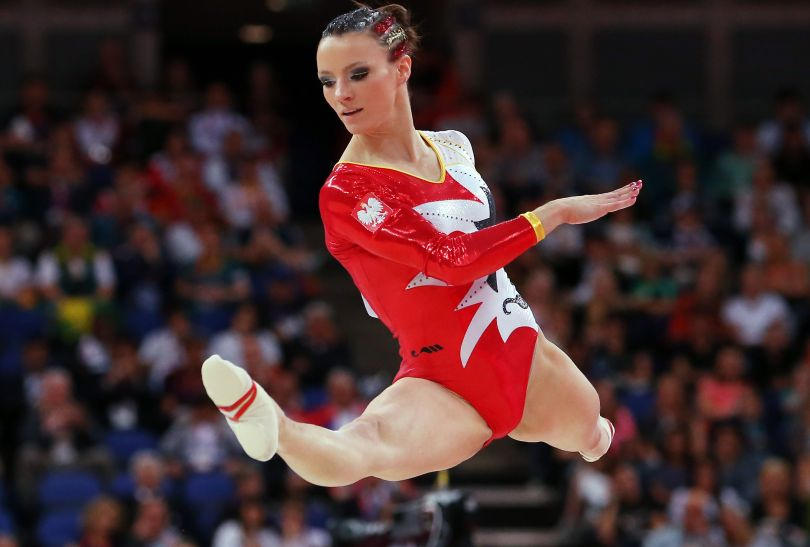 Marta Pihan-Kulesza, polska gimnastyczka (fot. Getty Images)