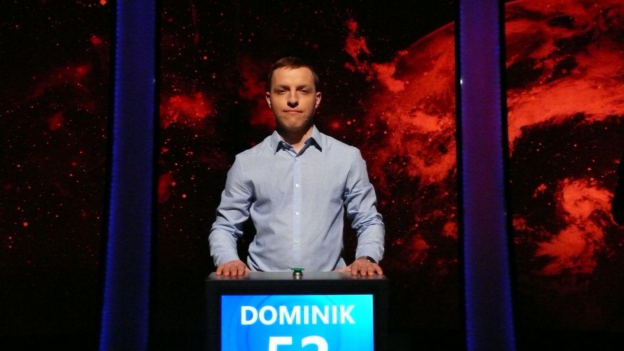 Dominik Majer - zwycięzca 10 odcinka 106 edycji