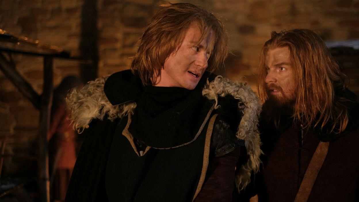 Strzała tylko raniła Kazimierza, a rycerze króla szybko ujęli zamachowca. Jego los był przesądzony... (fot. TVP)