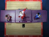 Polak po raz pierwszy w Londynie stanął na najwyższym stopniu podium (fot. Getty Images)
