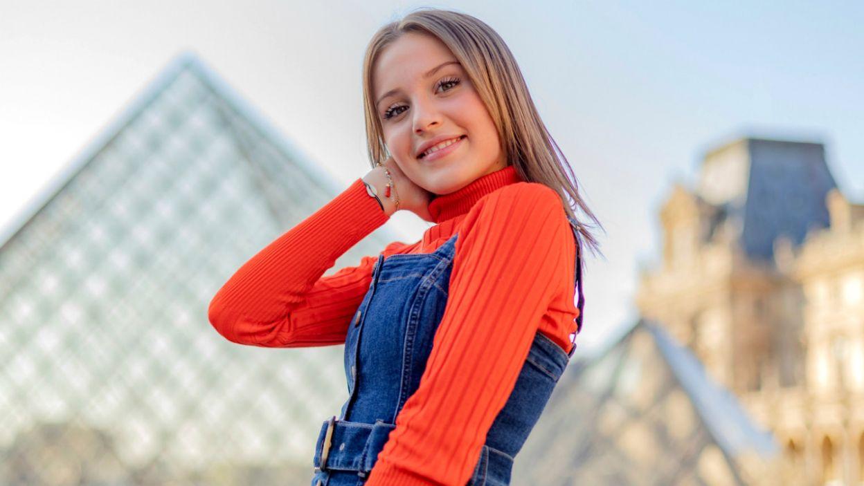 Carla Lazzari z Francji to jedna z faworytek finału w Gliwicach (fot. eurovision.tv)