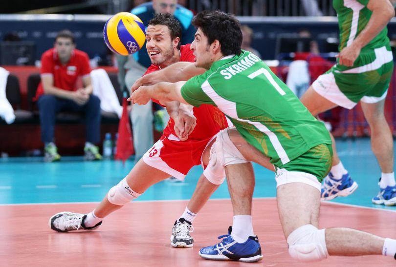Bułgarom udało się wygrać jedynie trzeciego seta (fot. PAP/EPA)