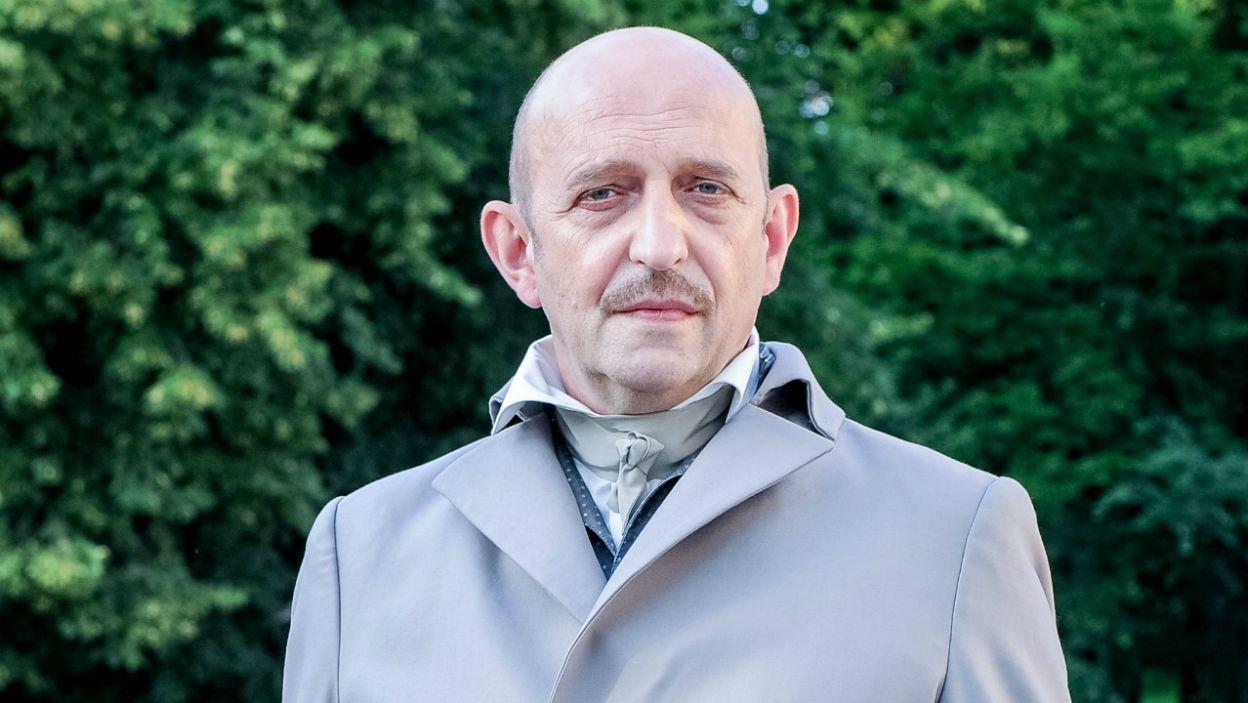 Janusz Chabior pokazał się jako Mikołaj Chopin (fot. Natasza Młudzik/TVP)