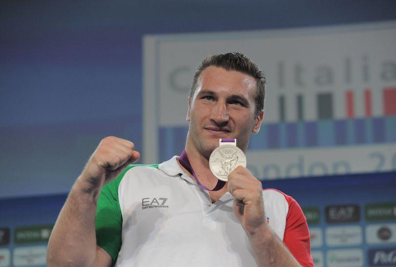Roberto Cammarelle, po złocie w Pekinie i brązie w Atenach, tym razem do domu wróci ze srebrem (fot. Getty Images)