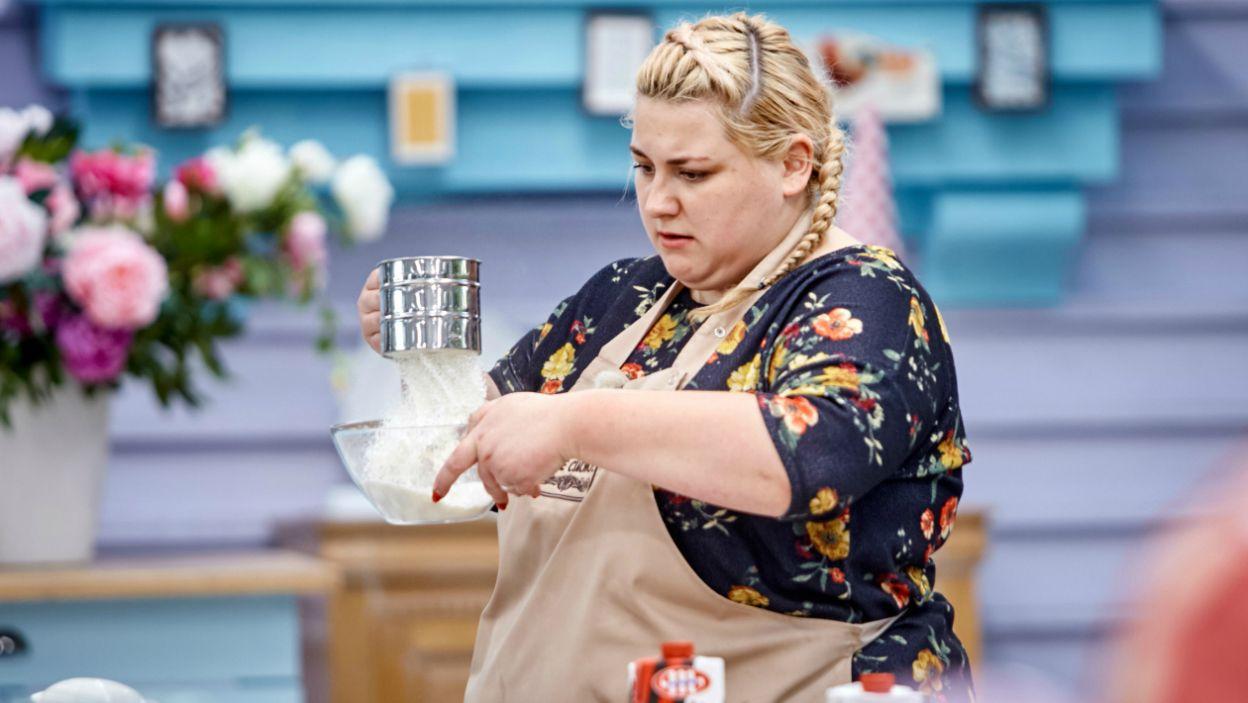 Zwariowane smaki Justyny – tort z oscypkiem, żurawiną i rozmarynem na biszkopcie (fot. TVP)