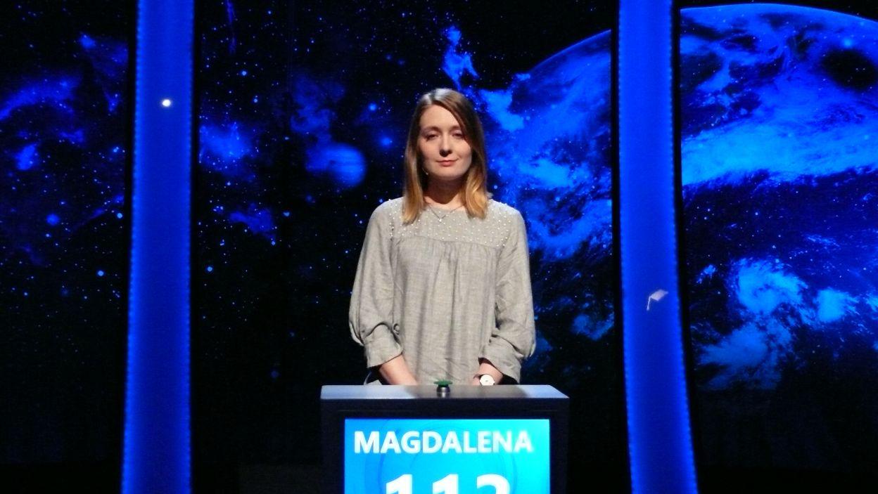 Magdalena Adamczyk - zwyciężczyni 10 odcinka 105 edycji