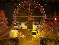 Makieta London Eye, z którego widać panoramę całego miasta (fot. Getty Images)