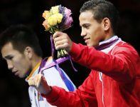 Osiemnastoletni Kubańczyk Robeisy Ramirez Carrazana  wywalczył złoto w kategorii 52 kg (fot Getty Images)