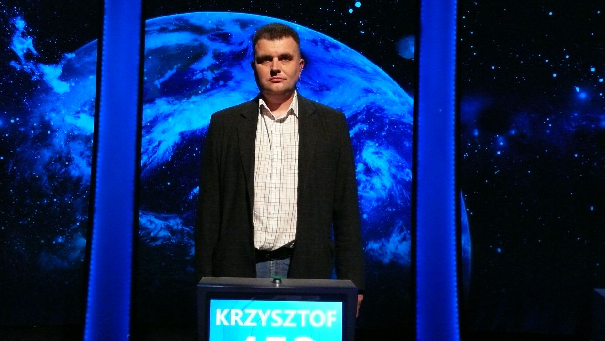 Krzysztof Rutecki - zdobywca nagrody za największą ilość zdobytych punktów