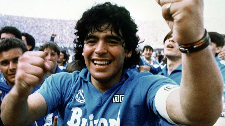 """""""Diego"""" – Bóg w piłkarskim trykocie"""