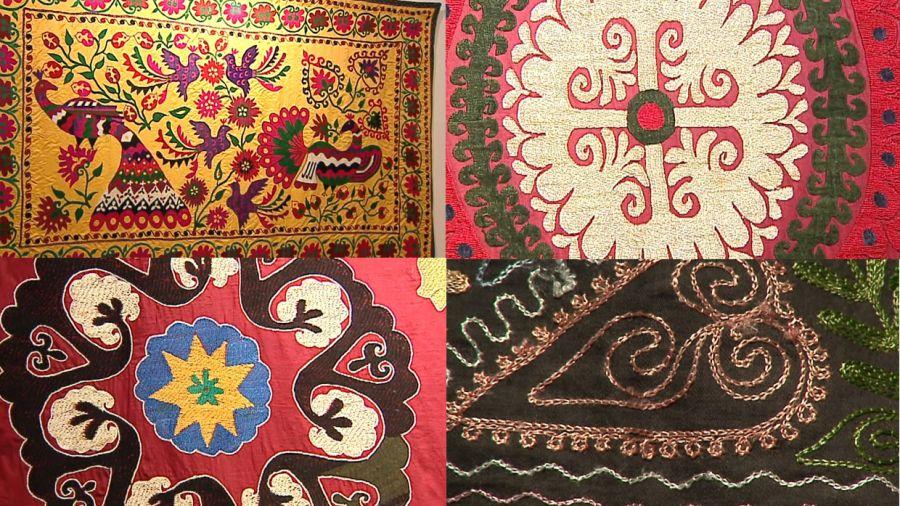 Piękne Hafty Tkanin Z Azji Mają Drugie Dno Płodność Ukryta