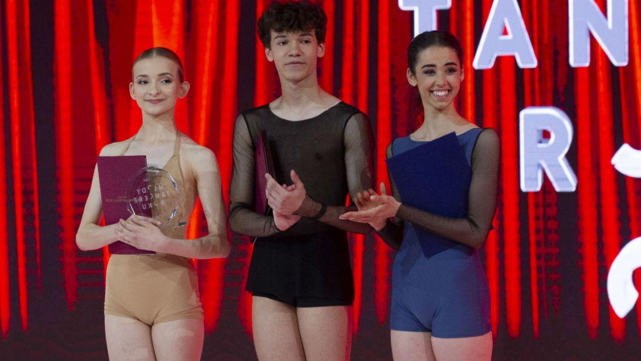 Nagrodę za wyróżniającą się osobowość sceniczną otrzymała Dominika Woszek (fot. N. Młudzik/TVP)