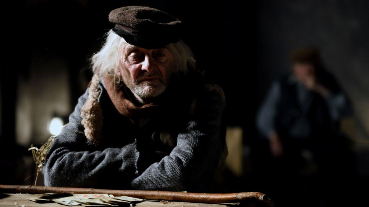 W rolę Bezdomnego wcielił się Jerzy Bończak (fot. Agata Ciołek)
