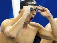 Wielkie zdziwienie na początek? Phelps przegrał z Paulem Biedermannem wyścig na 200 kraulem pływackich MŚ (fot. PAP/EPA)