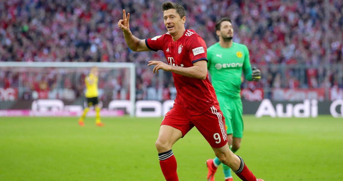 77d6bfe78 ... granicy 200 goli w Bundeslidze: to nie koniec. Robert Lewandowski (fot.  Getty Images)