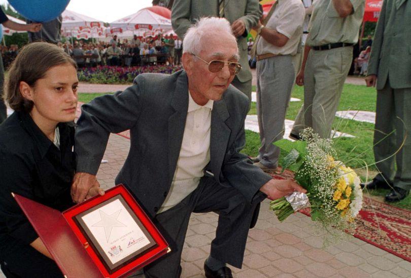 Aleksy Antkiewicz w 1948 roku w Londynie zdobył brązowy medal w wadze piórkowej (fot. PAP)