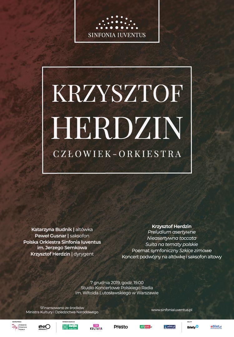 KRZYSZTOF HERDZIN | Człowiek – Orkiestra