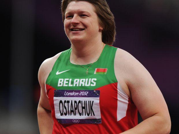 Nadieżda Ostapczuk krótko cieszyła się z olimpijskiego złoła (fot. Getty Images)
