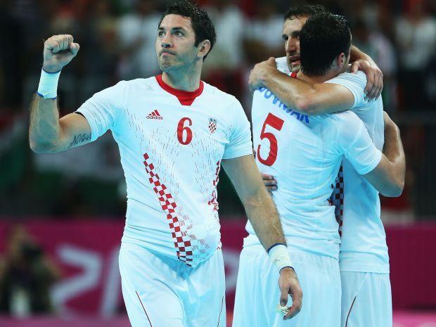 Chorwaci zdobyli trzeci w historii olimpijski medal w piłce ręcznej (fot. Getty Images)