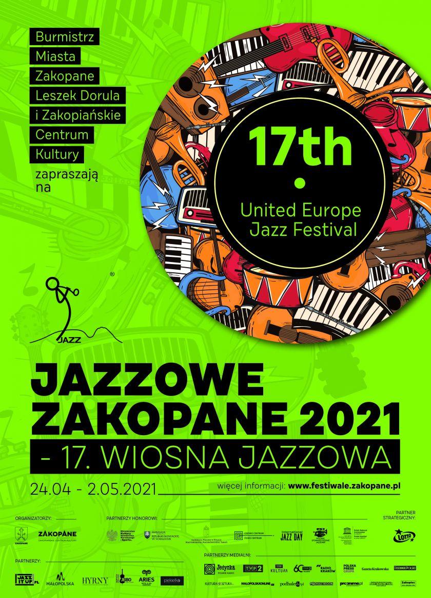 Muzyczna majówka z Jazzowym Zakopanem – 17. Wiosną Jazzową już trwa!