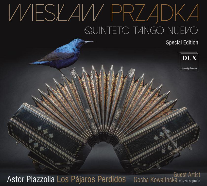 Wyjątkowy album na 100. rocznicę urodzin Astora Piazzolli.