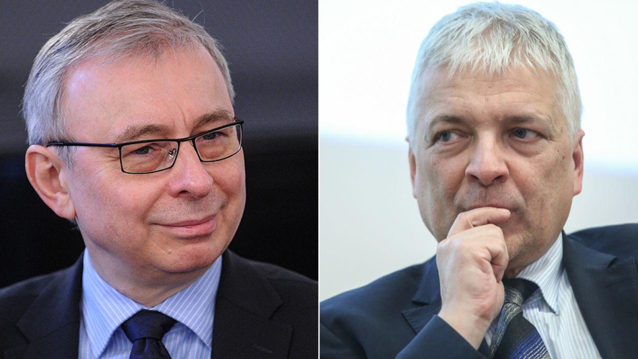 Andrzej Sadowski i Robert Gwiazdowski z Centrum im. Adama Smitha (fot. arch.PAP/Rafał Guz/Marcin Obara)