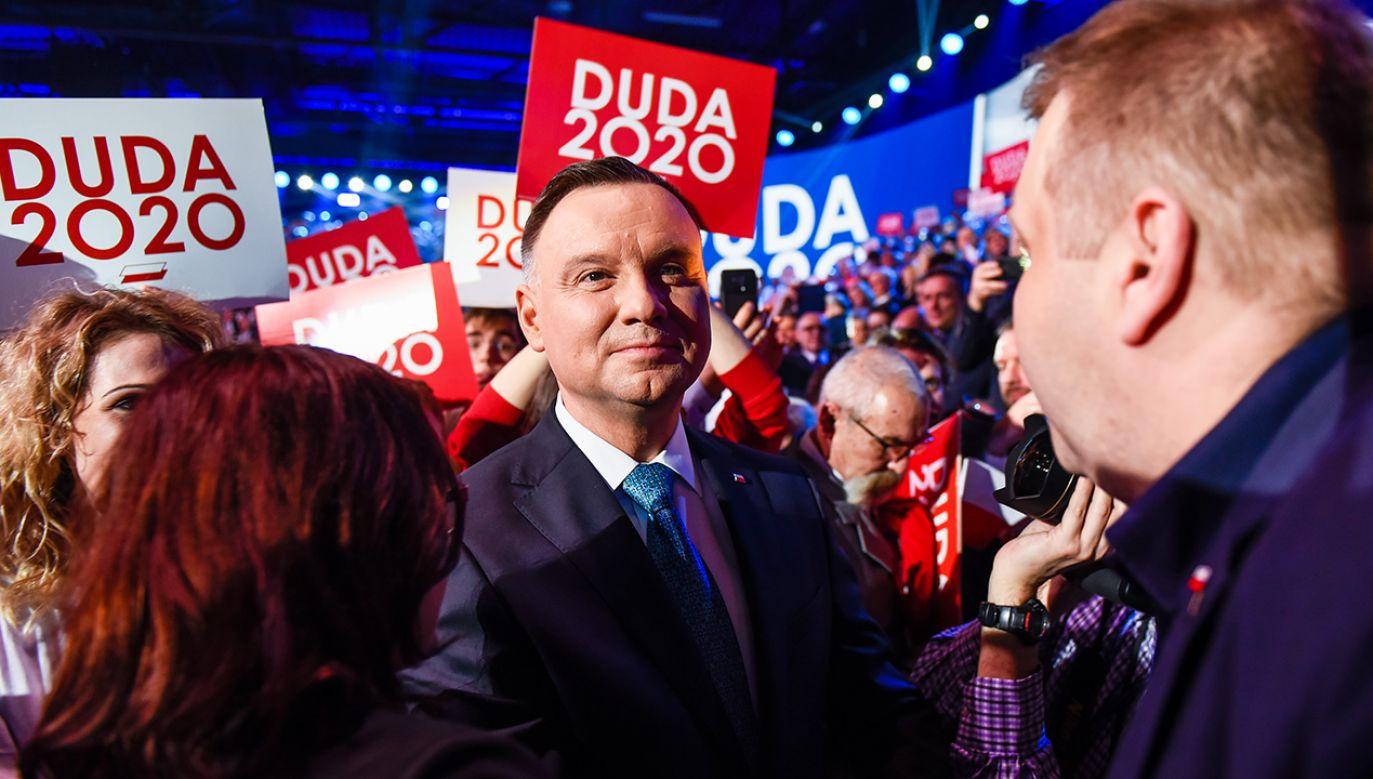 Kampanię urzędującego prezydenta najlepiej oceniło 43 proc. badanych (fot. Omar Marques/Getty Images)
