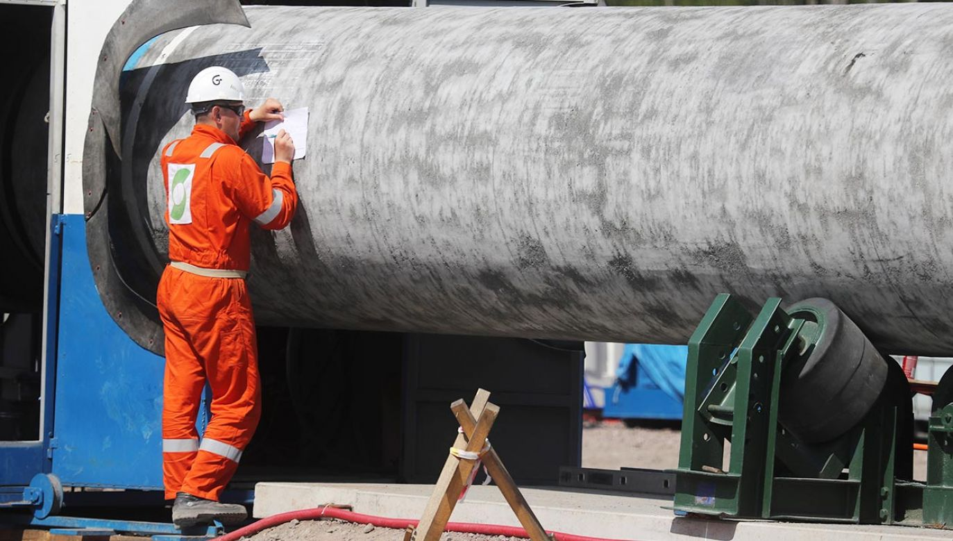 Gazociąg ma tłoczyć do Niemiec 55 mld metrów sześciennych gazu ziemnego rocznie (fot. Alexander Demianchuk\TASS via Getty Images)