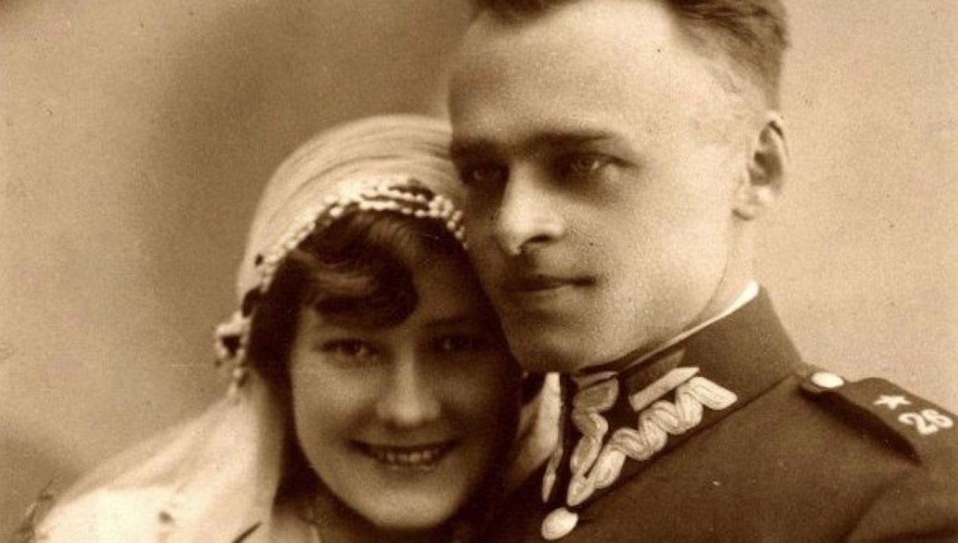 Witold Pilecki poznał Marię, kiedy pracował w swoim majątku niedaleko Sukurcz (fot. IPN)