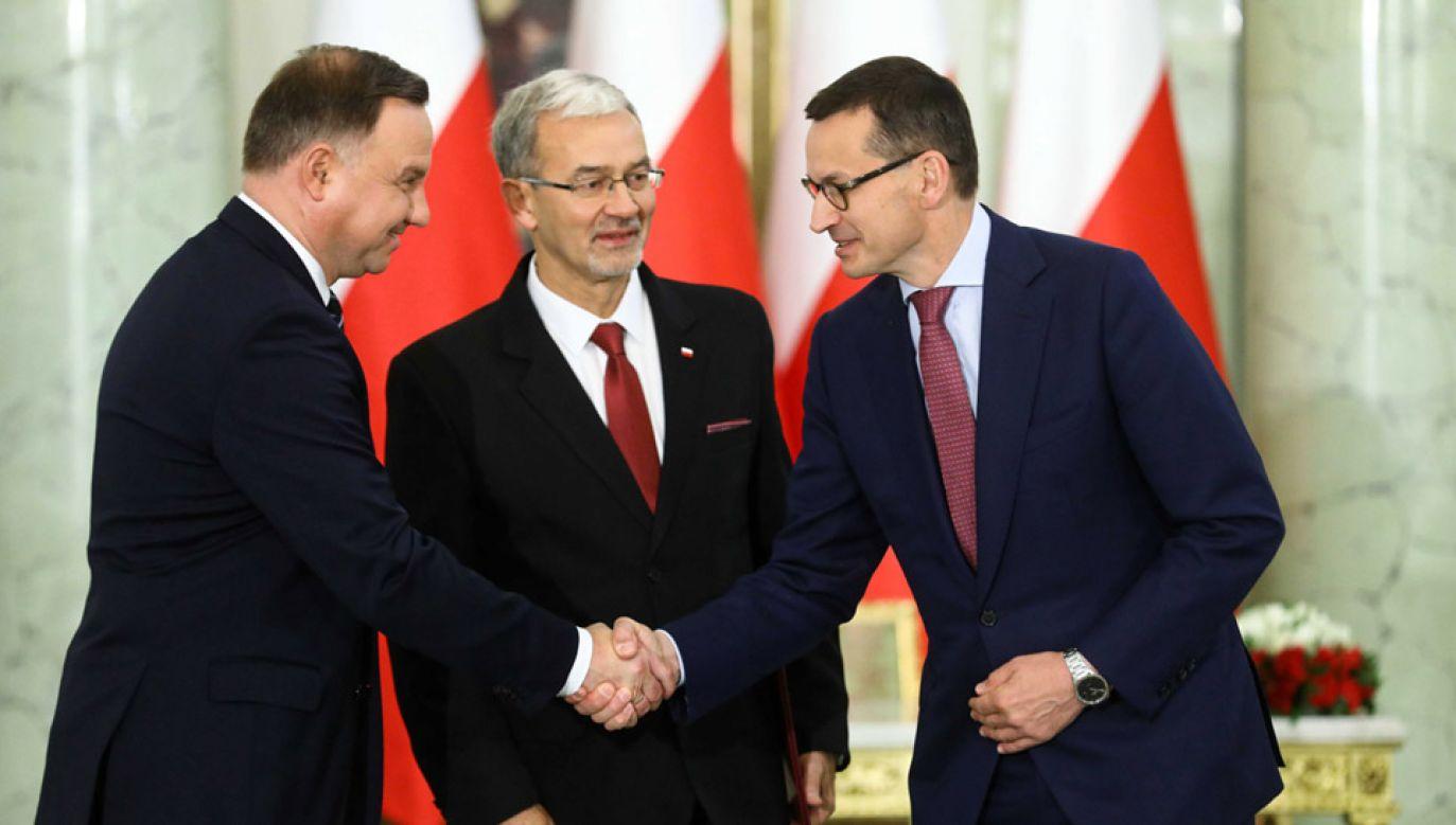 Jerzy Kwieciński nowym ministrem finansów, inwestycji i rozwoju (fot. PAP/Rafał Guz)