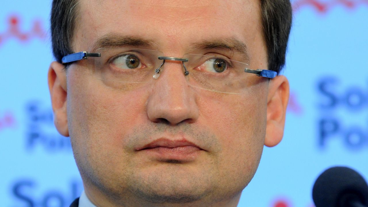 Szef Solidarnej Polski Zbigniew Ziobro (Fot. PAP/Grzegorz Jakubowski)