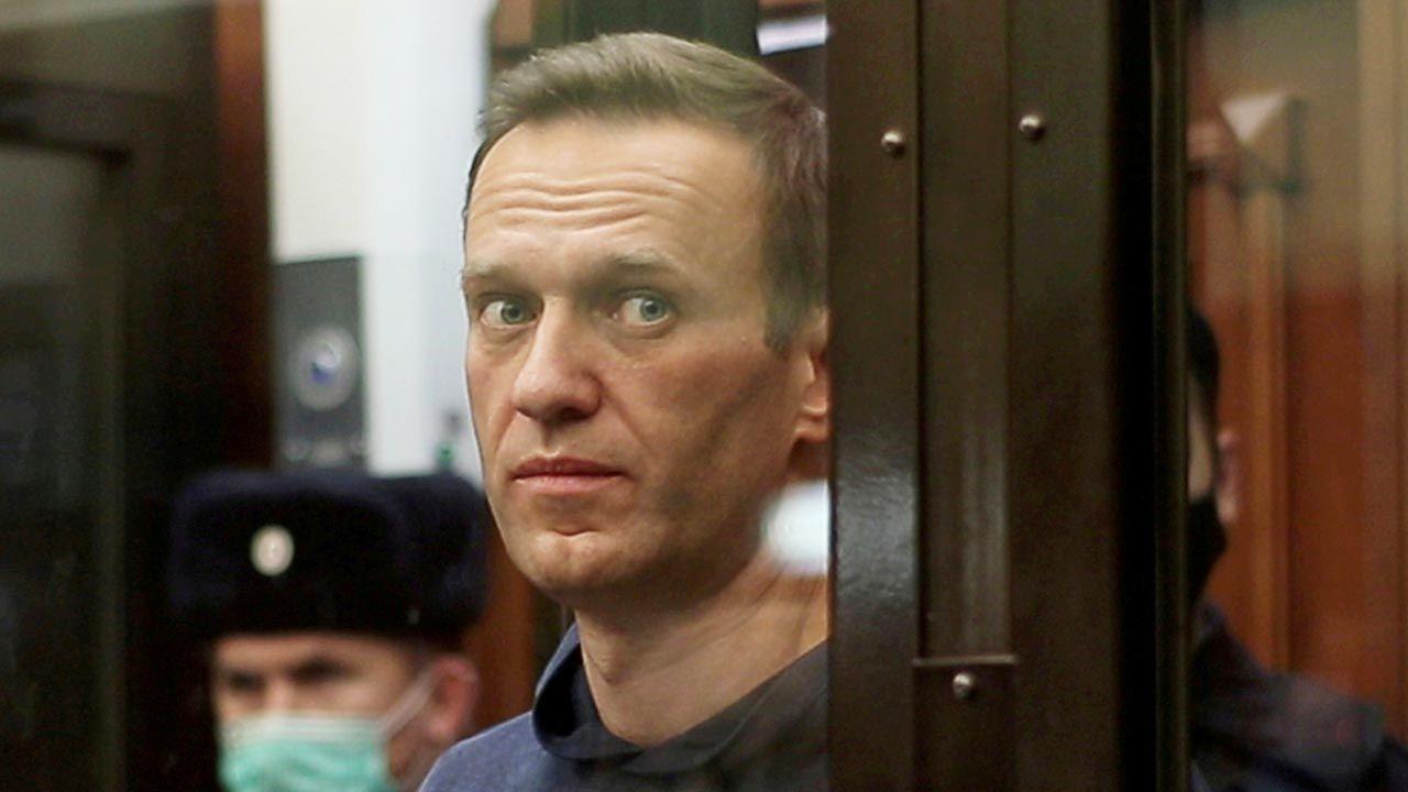 Aleksiej Nawalny (fot. Press service of Simonovsky District Court/Handout via REUTERS)