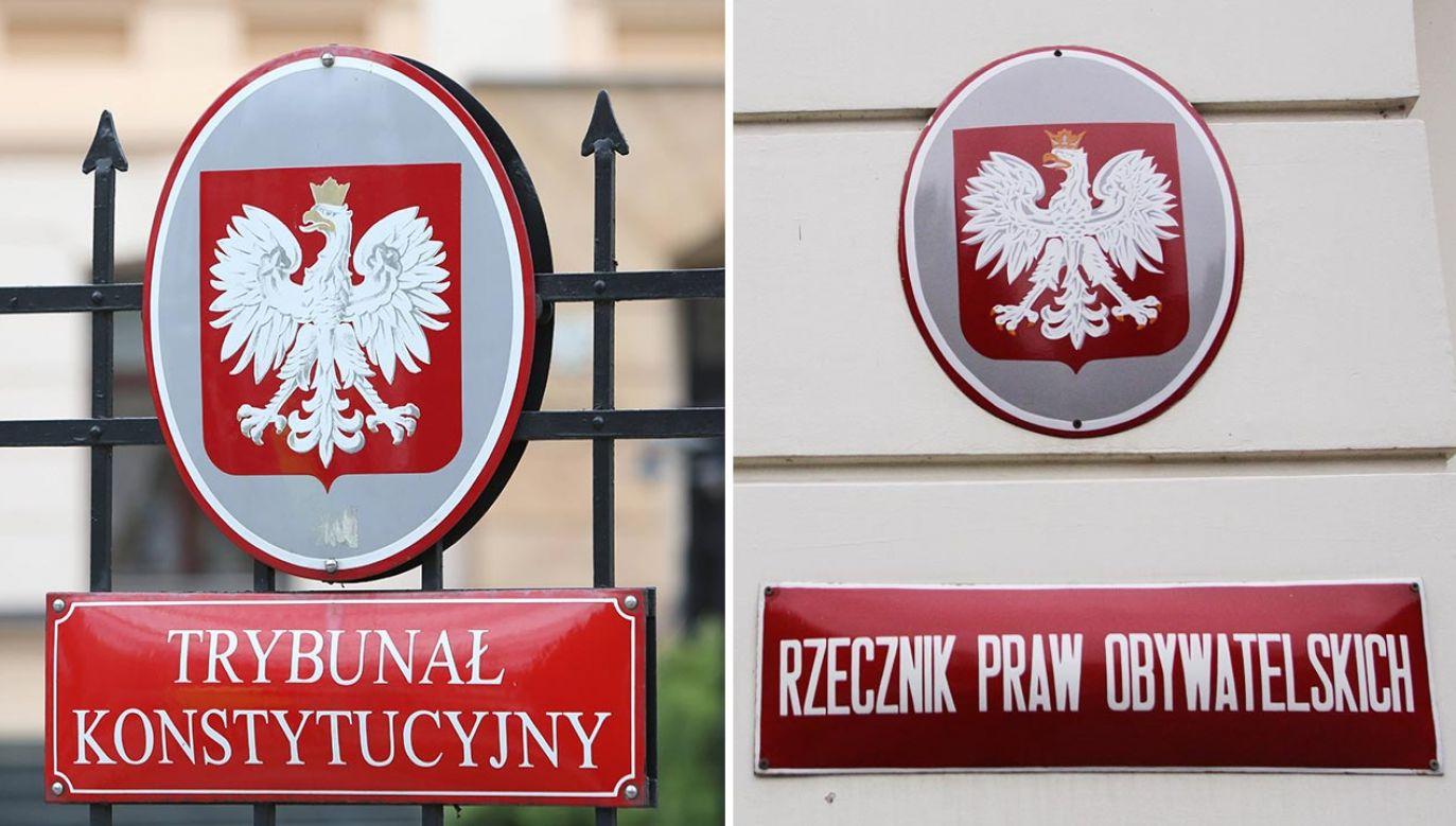Trybunał Konstytucyjny wydał decyzję ws. RPO (fot. PAP/Leszek Szymański, Tomasz Gzell)