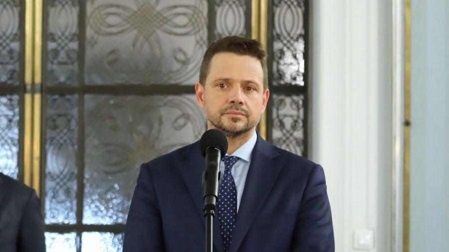 Rafał Trzaskowski kandydatem PO w wyborach prezydenckich (fot. PAP/Tomasz Gzell)