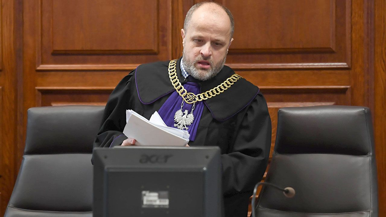 Sędzia Piotr Gąciarek (fot. arch.PAP/Piotr Nowak)