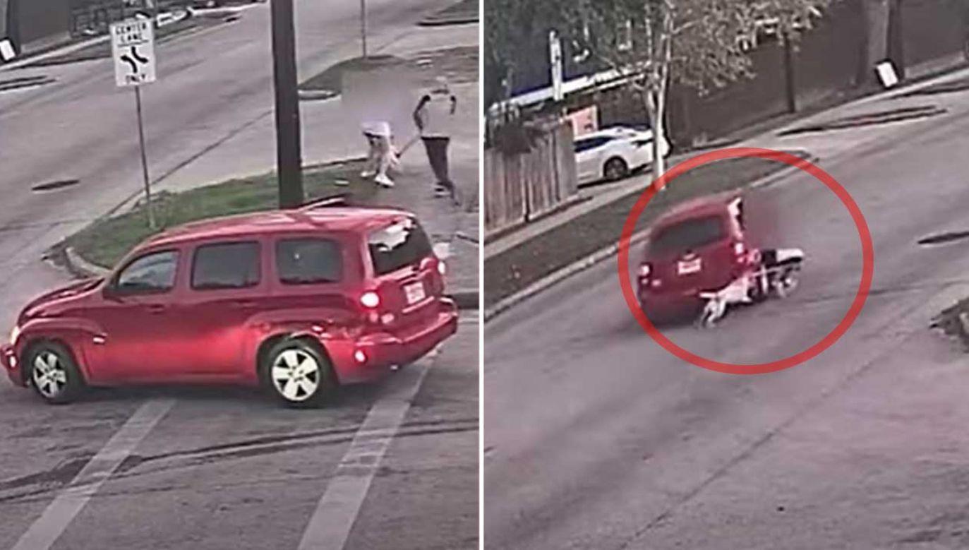 Policja z Houston pokazała nagranie z rabunku (fot. YT/ Houston Police Robbery)