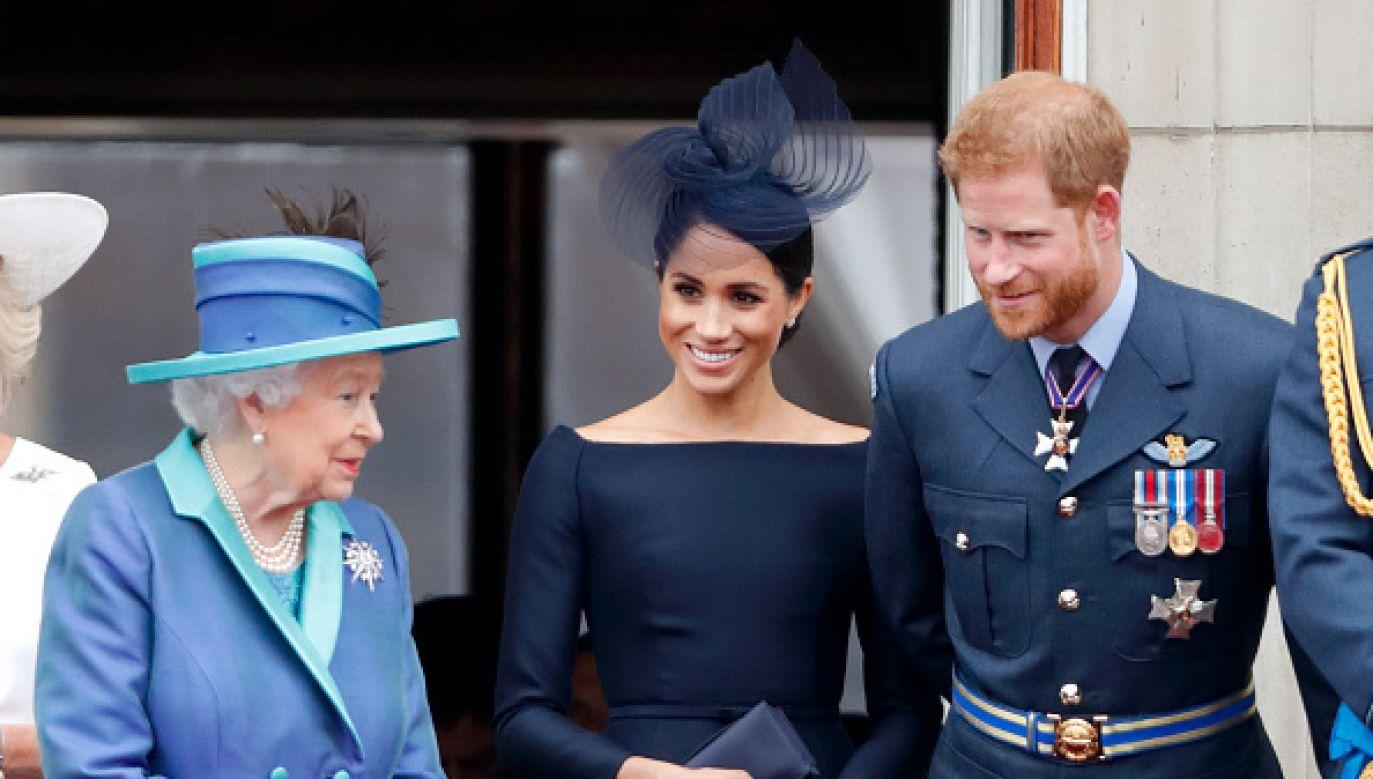 Córeczka Meghan i Harry'ego otrzymała dwa imiona (fot. Getty Images)