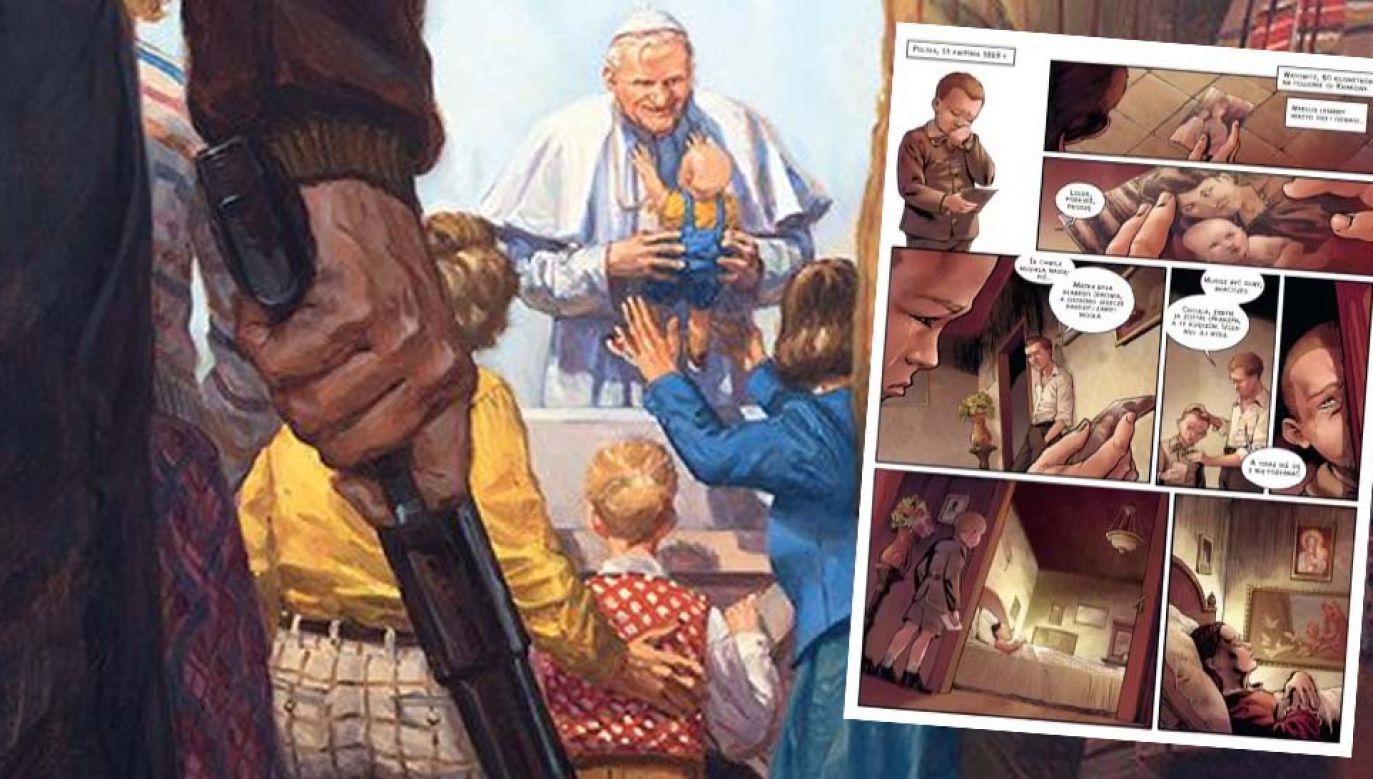 Pierwszy tom serii opowiada o życiu św. Jana Pawła II (graf. Egmont/mat.pras.)