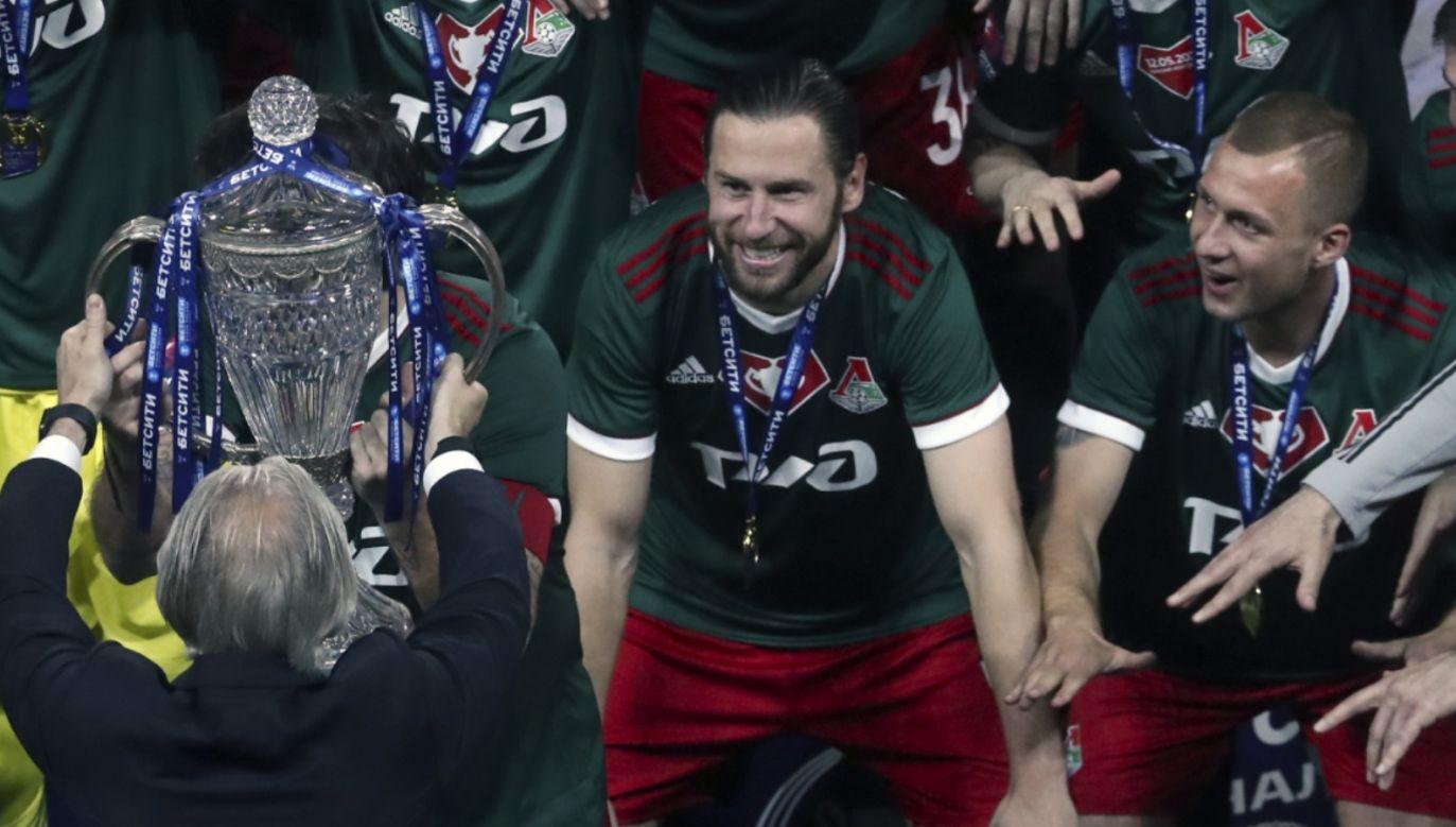 Puchar Rosji jest dziewiątym trofeum Grzegorza Krychowiaka w karierze (fot. Getty)
