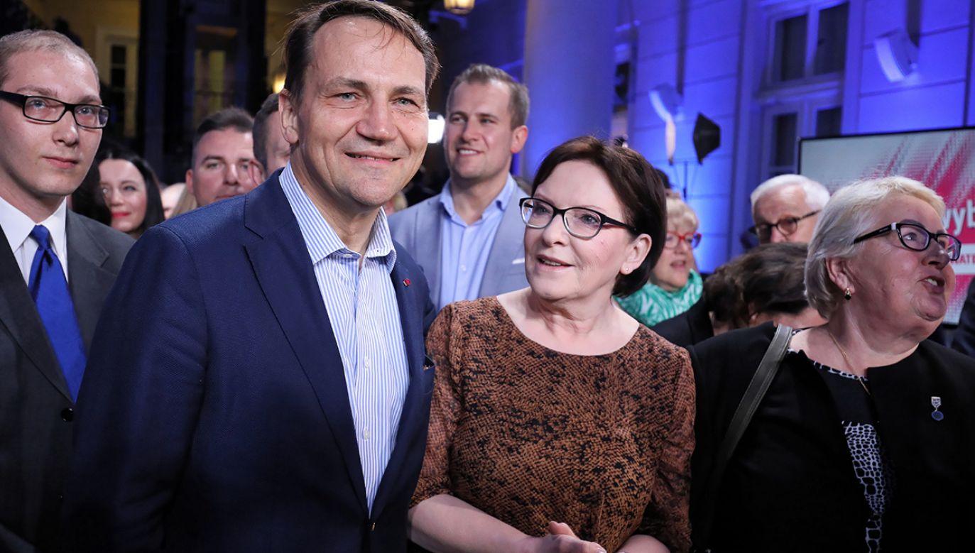 W 2010 roku w prawyborach prezydenckich PO Sikorskiego (na zdjęciu) pokonał Komorowski (fot. arch.PAP/Paweł Supernak)