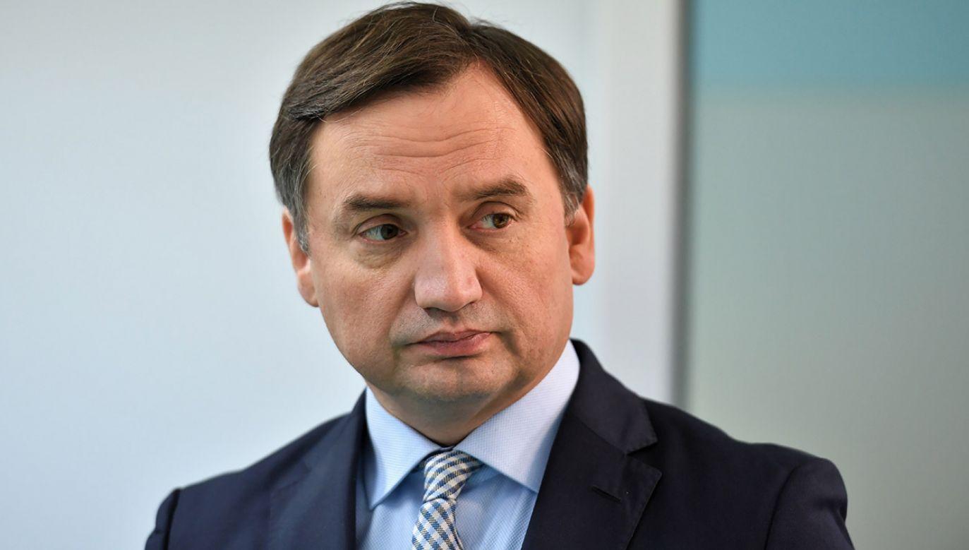 """Minister sprawiedliwości nazwał dokument Komisji Weneckiej """"parodią opinii"""" (fot. PAP/Piotr Polak)"""