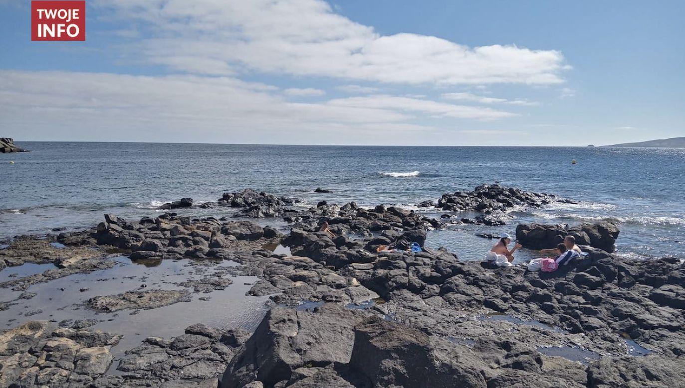 Pani Magda pozdrawia wszystkich z Puerto de Taliarte (fot. Twoje Info)