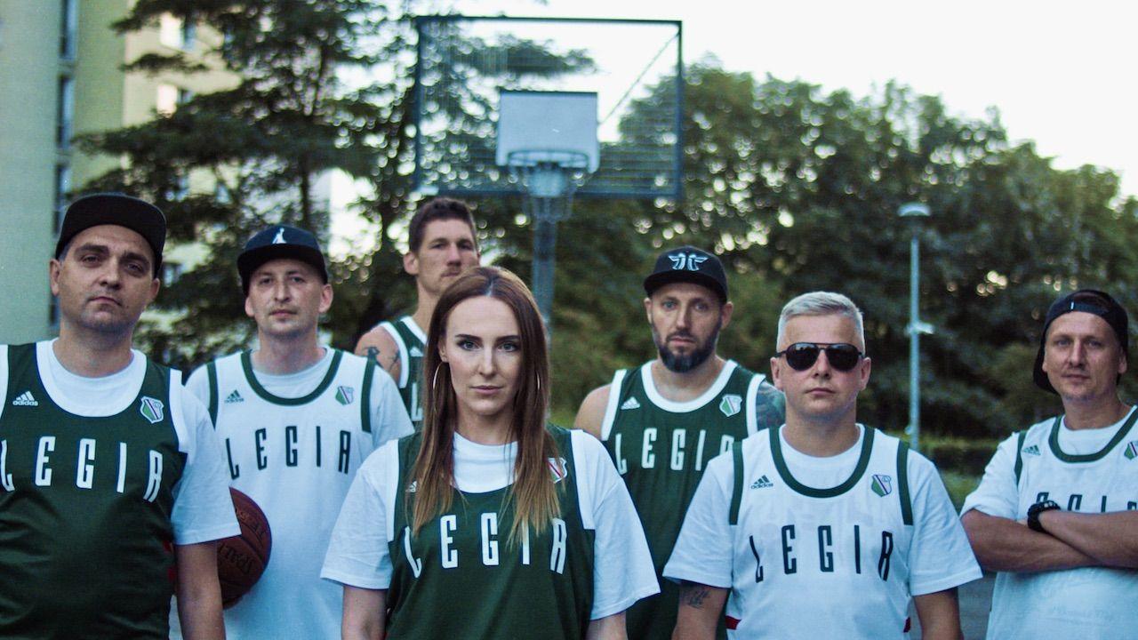 Warszawscy raperzy nagrali utwóro koszykarskiej Legii (fot. Materiały prasowe)