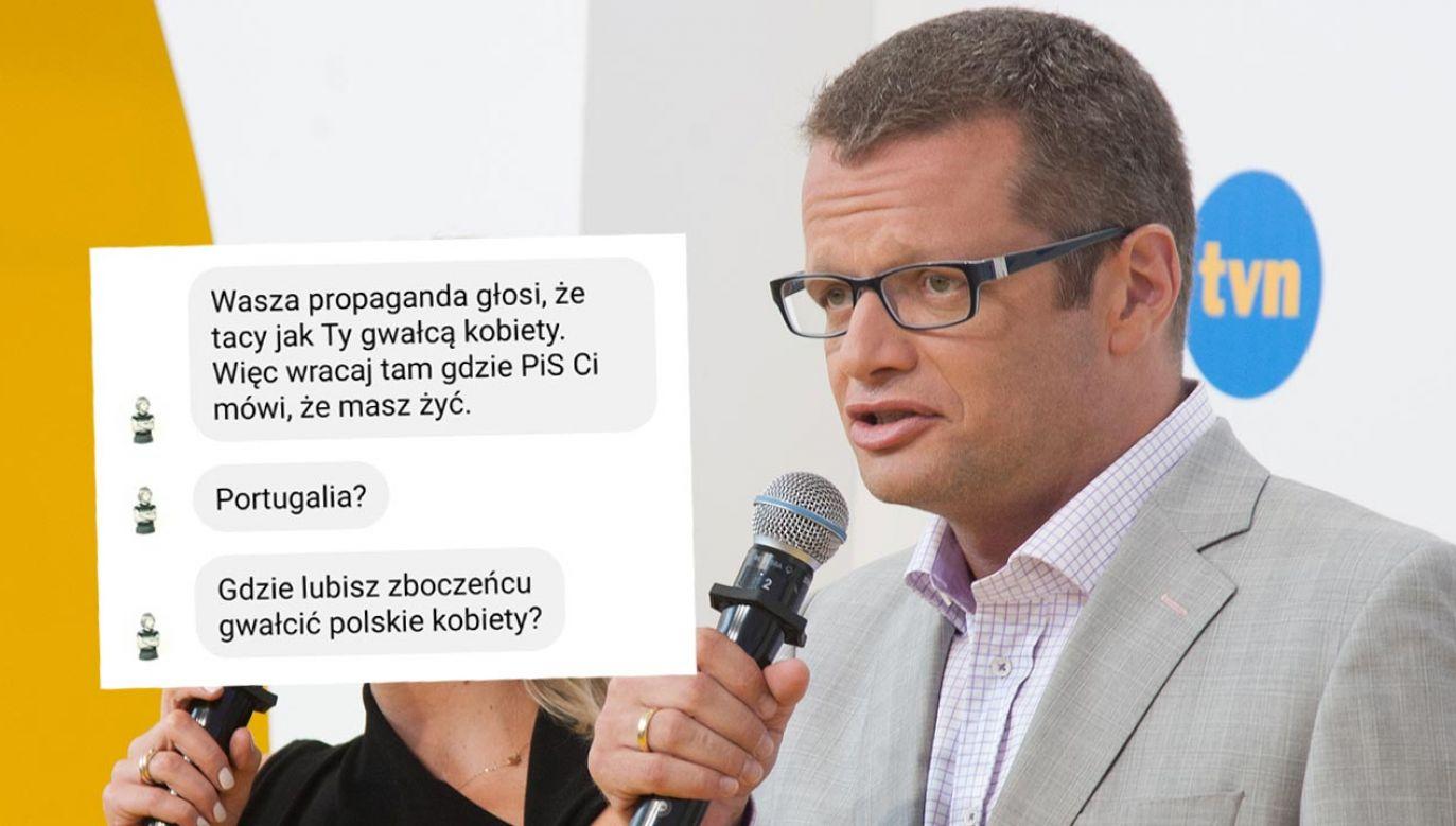 Szef portalu tvp.info przypomniał słowa Marcina Mellera (fot. Forum/ Marcin Dlawichowski)
