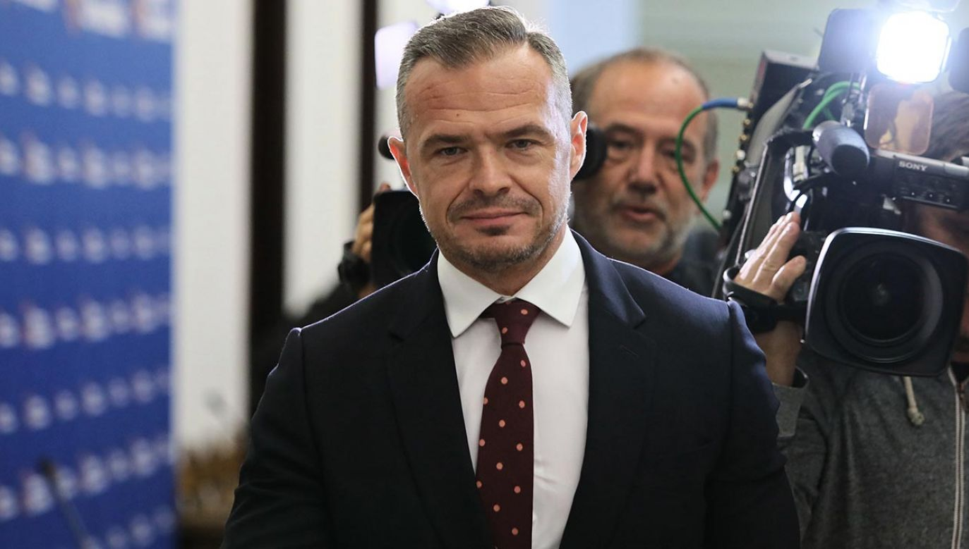 Nowak jest podejrzany o kierowanie zorganizowaną grupą przestępczą (fot. PAP/Leszek Szymański)