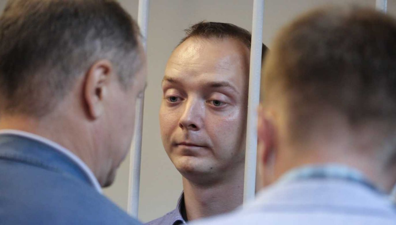 Iwan Safronow trafił do aresztu (fot. PAP/EPA/SOFIA SANDURSKAYA HANDOUT)