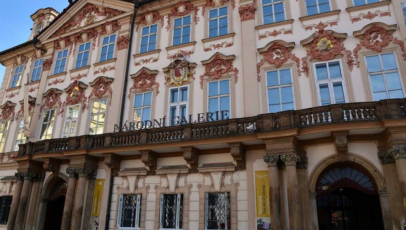 Galeria Narodowa w Pradze funkcjonuje od 1796 roku (fot. Wiki 2.0/Richard Mortel)
